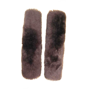 Genuine 100% Sheepskin Seat Belt Cover