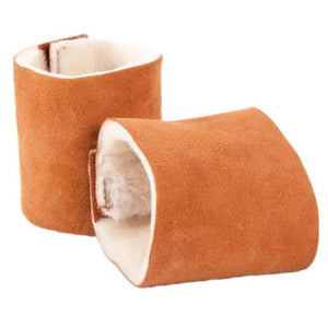 Genuine Sheepskin Wrist Warmers - Wristlets