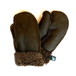 Children's 100% Genuine Sheepskin Mittens - Handmade in Britain