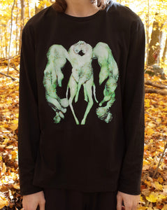 October 21 2019 Jesse Kanda 'Polycephaly' Black Longsleeve T First Edition of 300 (+25 AP) 限定1