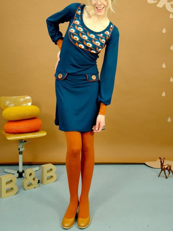 Snail On Speed Long Sleeve Sheath Dresses