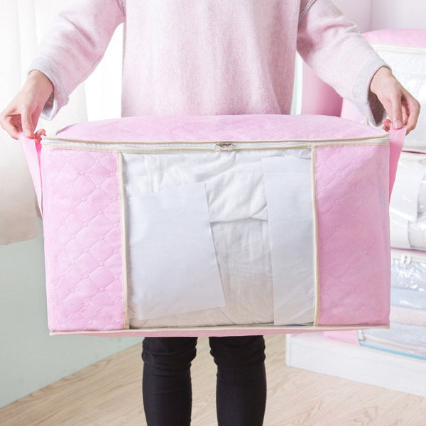 Large Capacity Breathable Washable Clothes Quilt Storage Bag