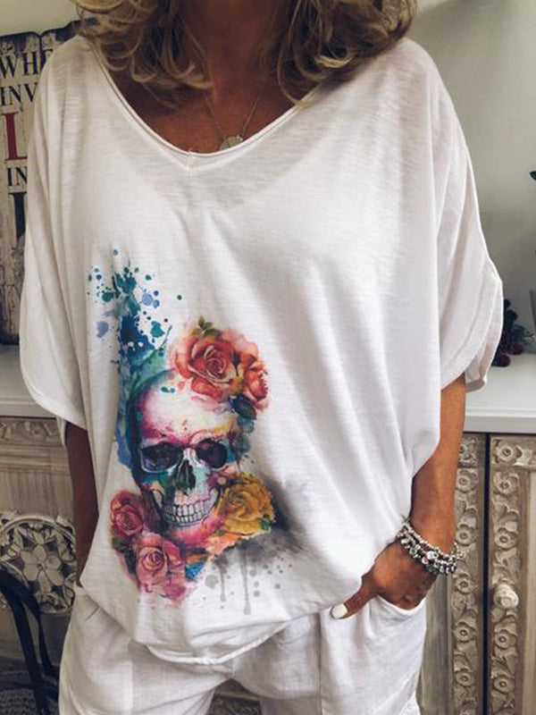 Women Casual Loose Tops Tunic T Shirt