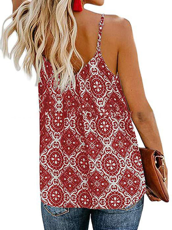 Spaghetti-Strap Holiday Camis