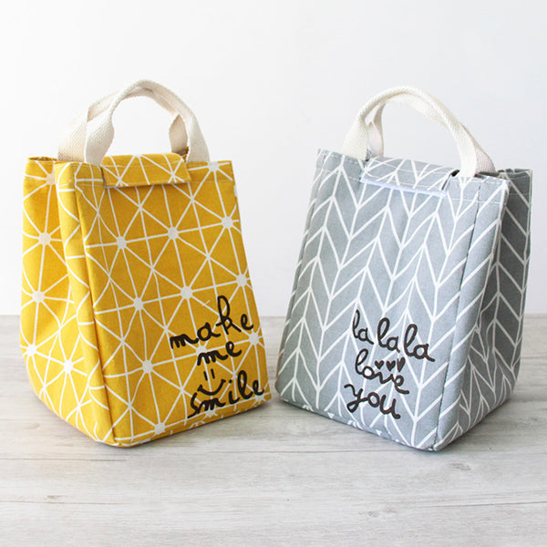 Geometry Bag Cooler Bag Picnic Pouch Lunch Container bag