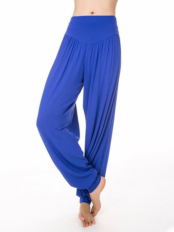 Women Hippie Aladdin Yoga Ali Pants Gypsy Genie Baba Harem Trousers Baggy