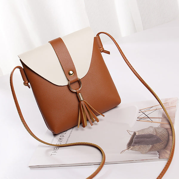 Stylish Flap PU Leather Phone Bag Shoulder Bags Crossbody Bags For Women