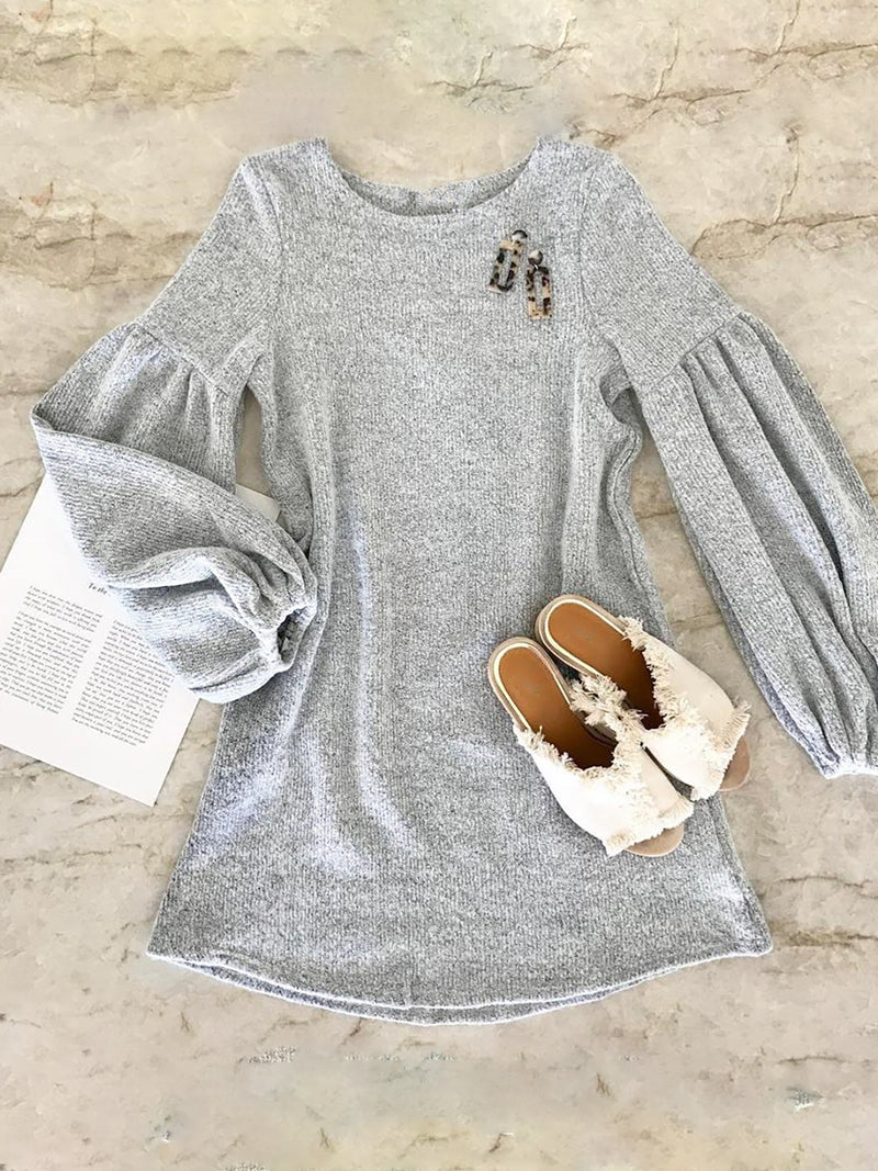 Basic Long Sleeve Dress