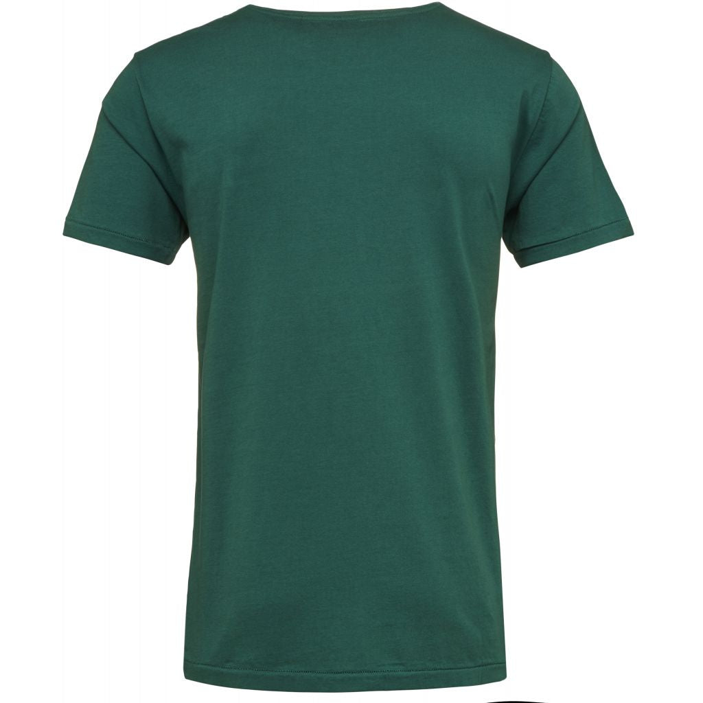 T-shirt vert en coton bio - Knowledge Cotton Apparel num 2