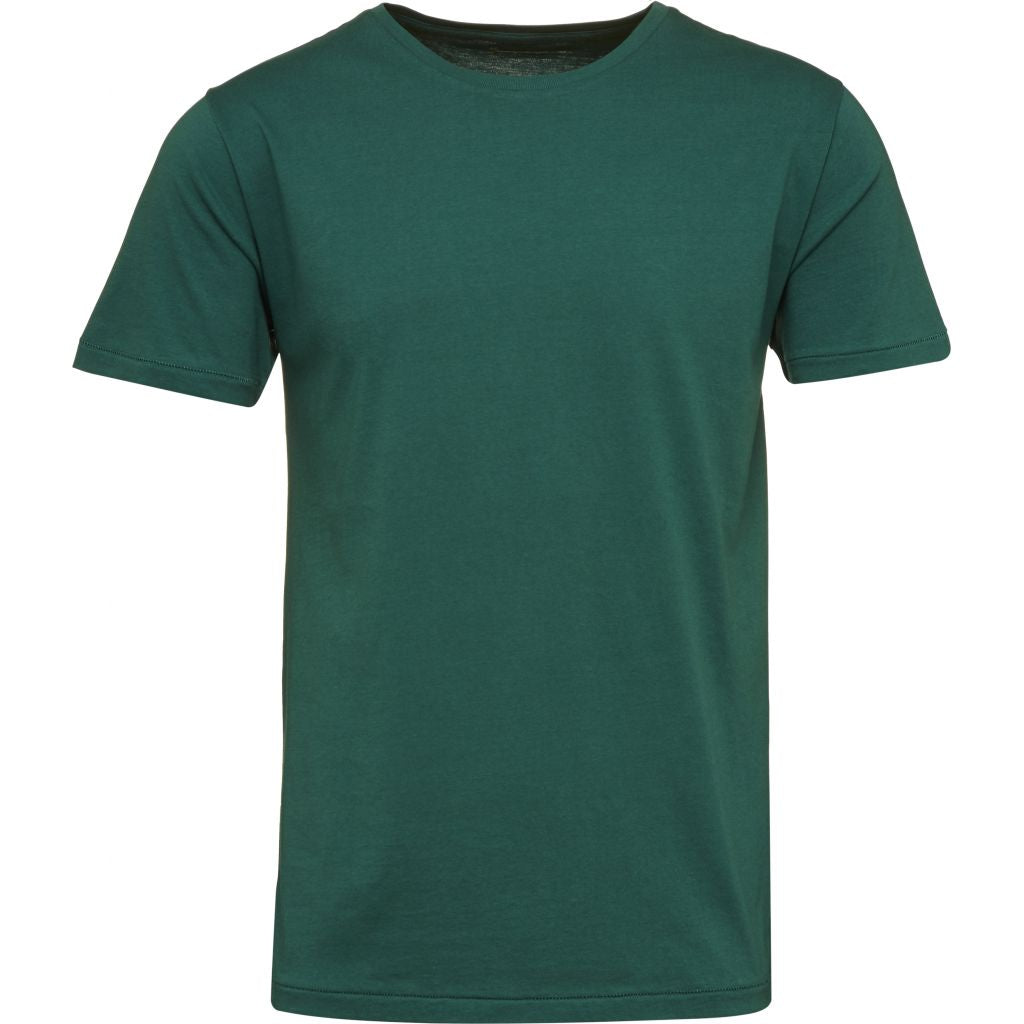 T-shirt vert en coton bio - Knowledge Cotton Apparel num 0