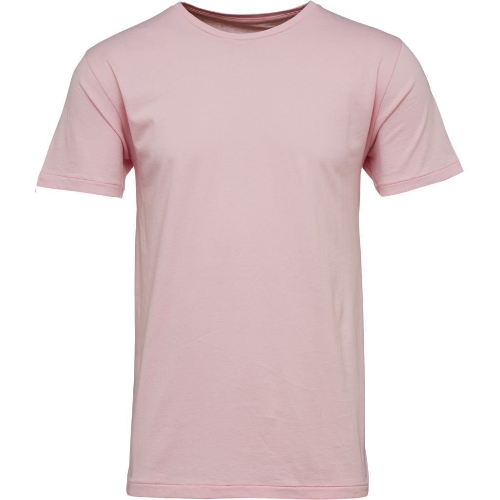 T-shirt rose en coton bio - Knowledge Cotton Apparel num 0