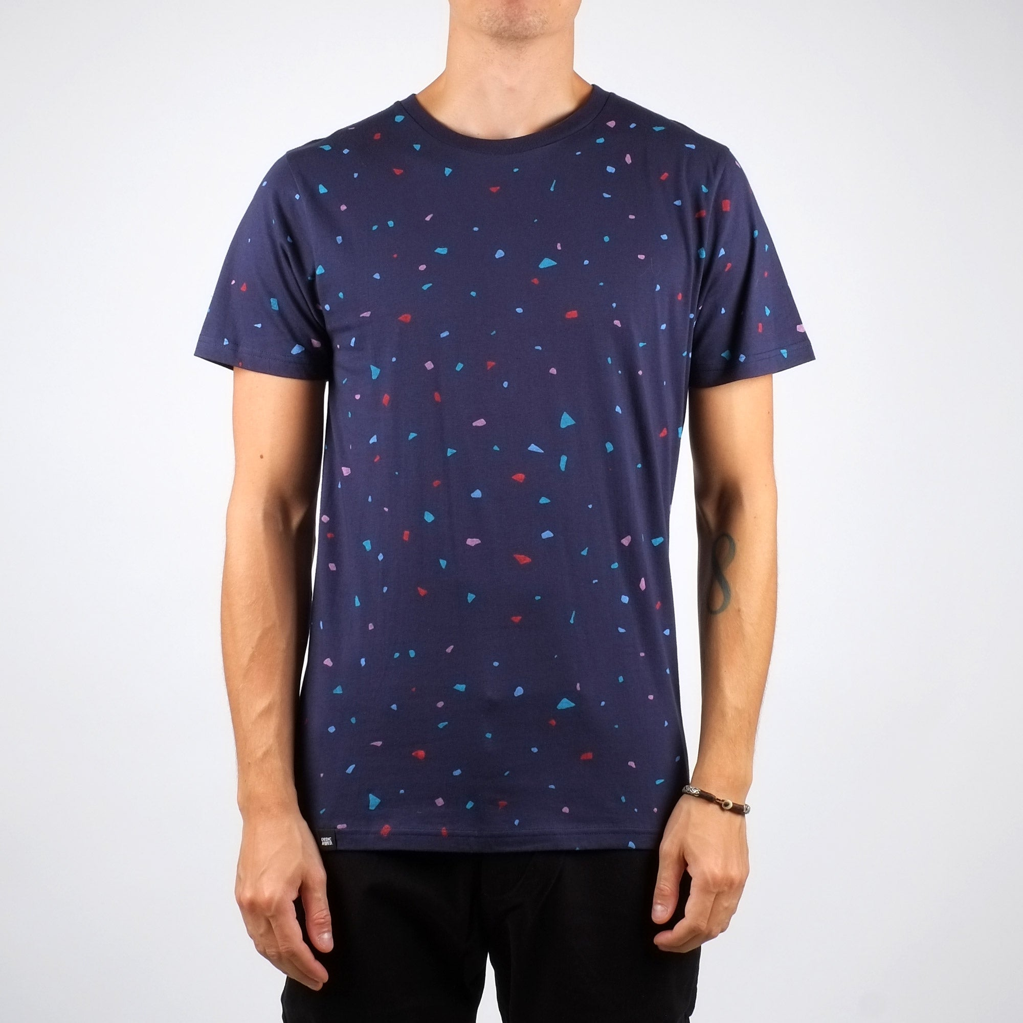 T-shirt confettis en coton bio - Dedicated