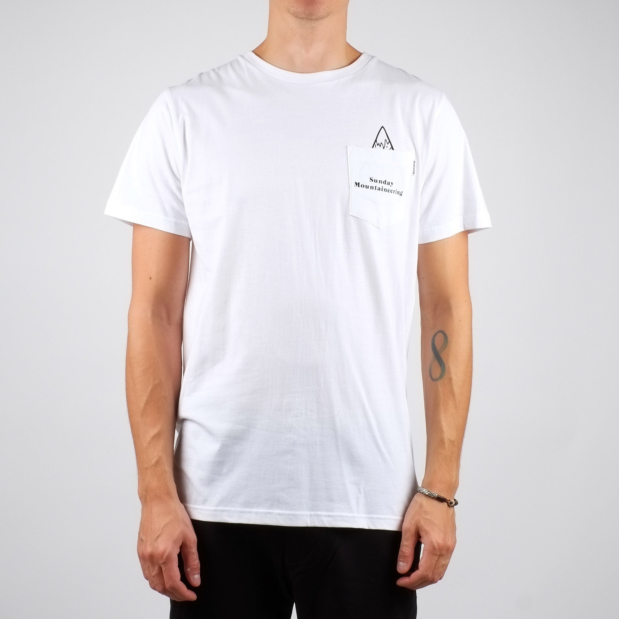 T-shirt sunday mountaineering en coton bio - Dedicated num 0