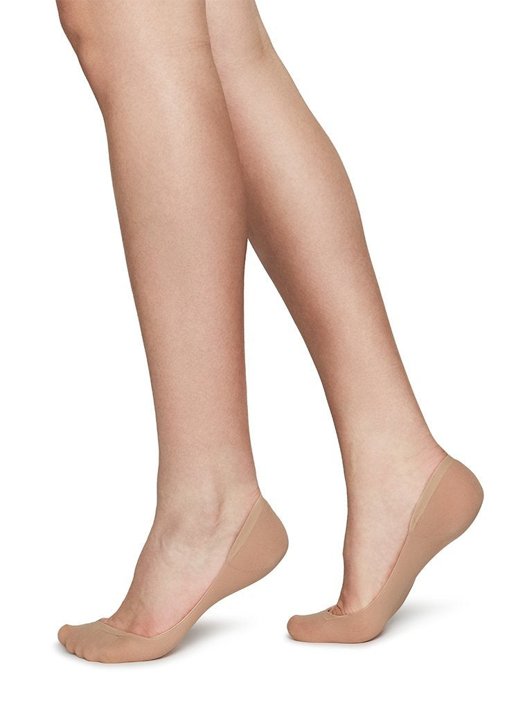 Swedish Stockings - Socquettes 70 deniers beiges recyclées - ida