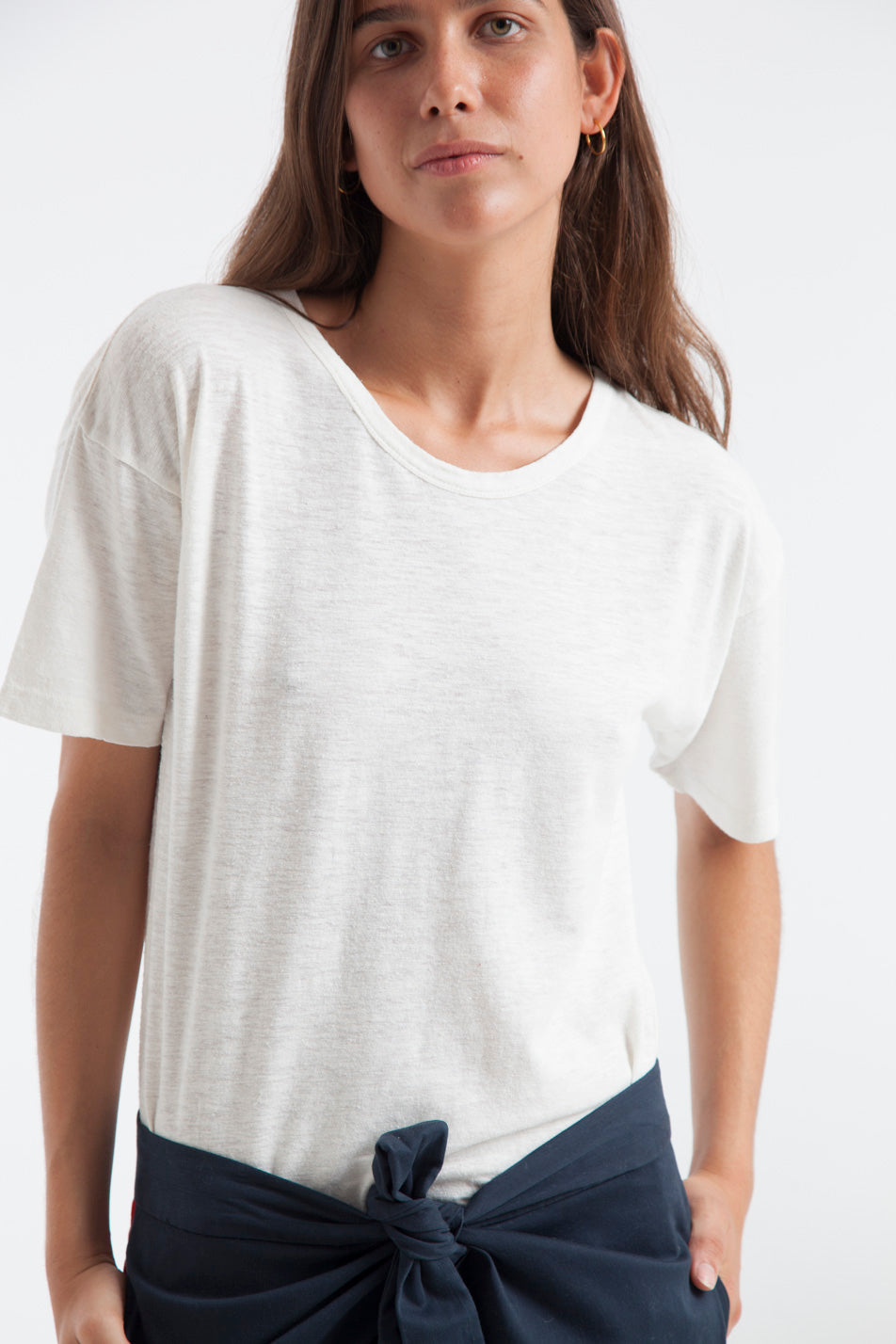 T-shirt en chanvre blanc - Thinking Mu num 0
