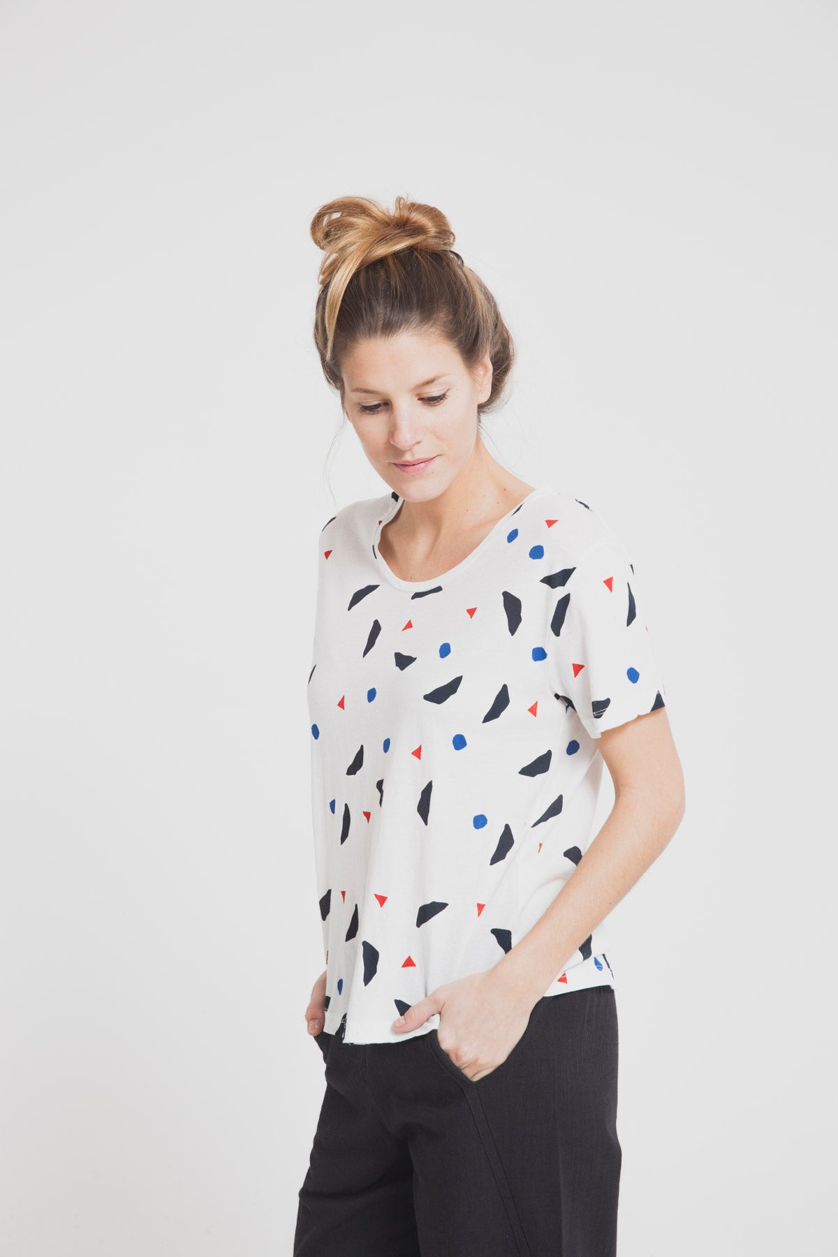 T-shirt loose en coton bio - Thinking Mu num 4