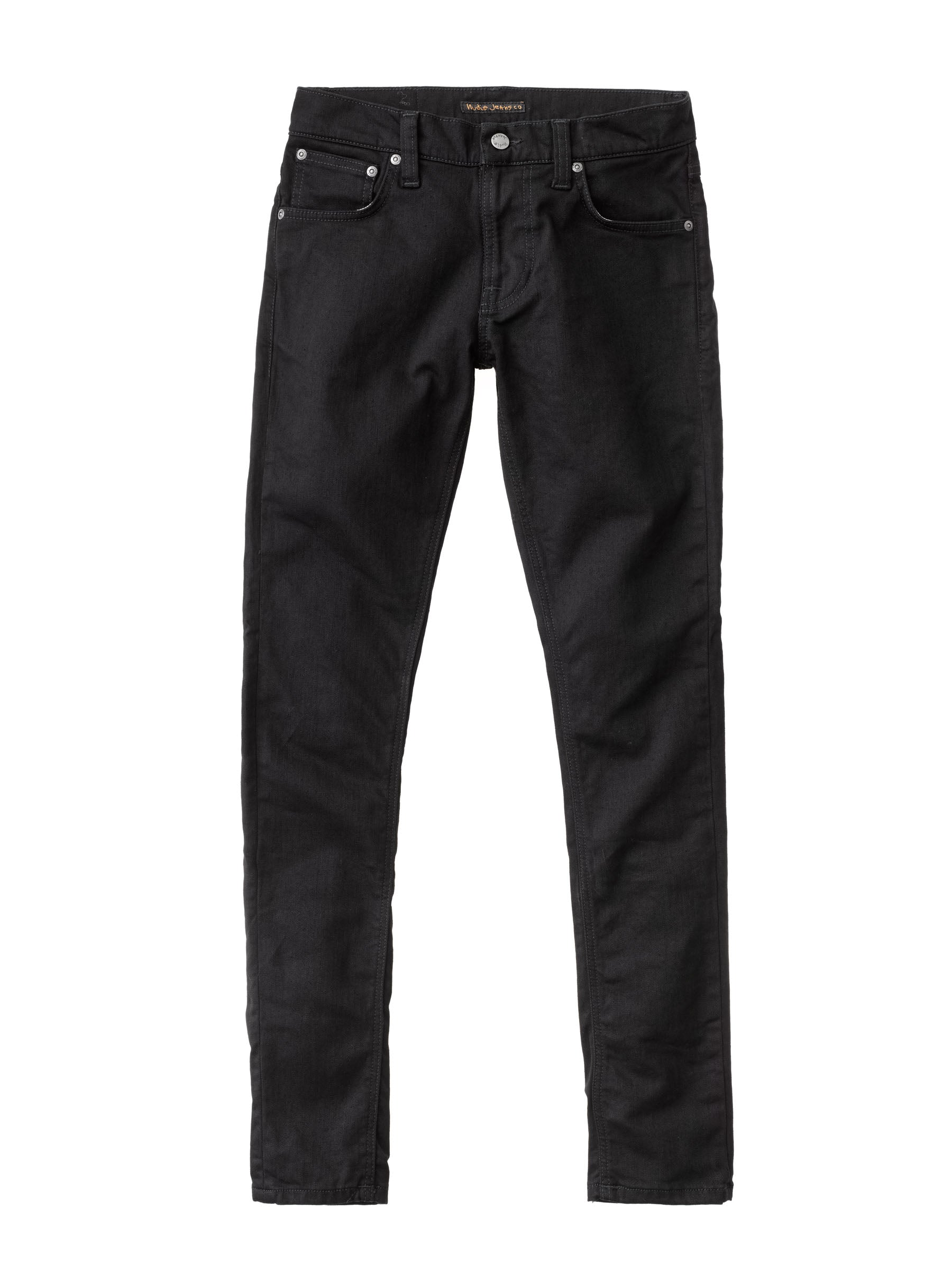 Jean skinny noir coton bio - tight terry - Nudie Jeans num 4