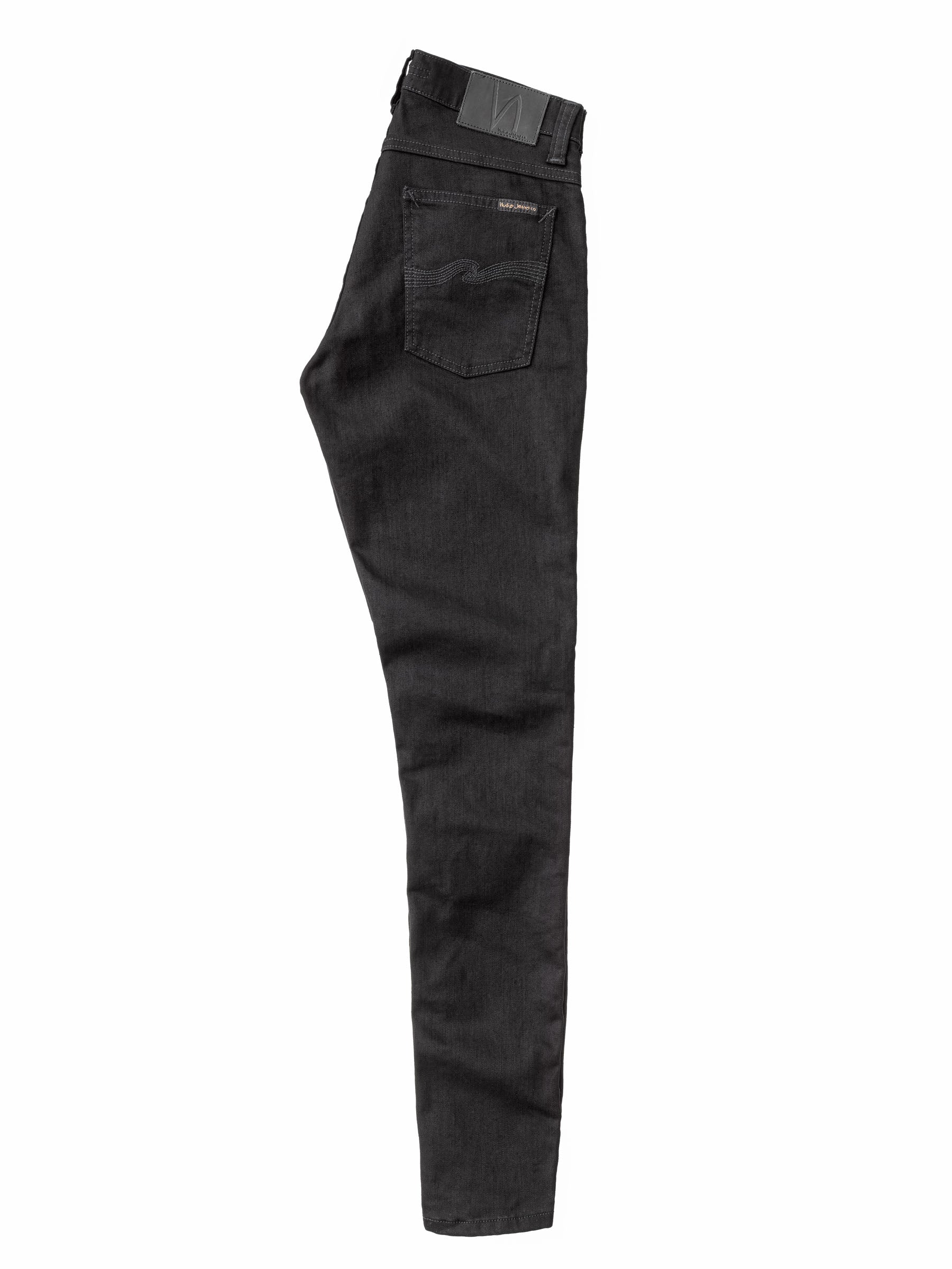 Jean skinny noir coton bio - tight terry - Nudie Jeans num 3