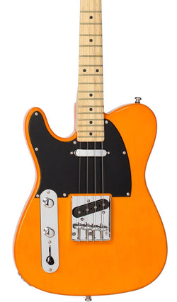 Eastwood Guitars Tenorcaster Butterscotch Blonde LH Featured