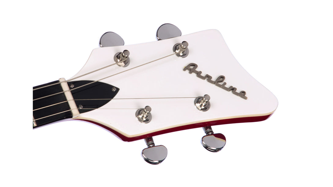 Eastwood Guitars Airline Map Tenor Red Headstock