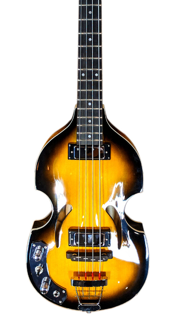 Eastwood Guitars Eastwood Klira Beatle Bass LH Sunburst Featured