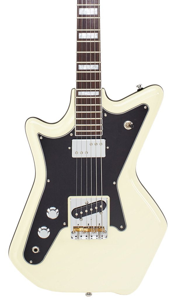 Eastwood Guitars Airline 59 2PT Vintage Cream LH Featured