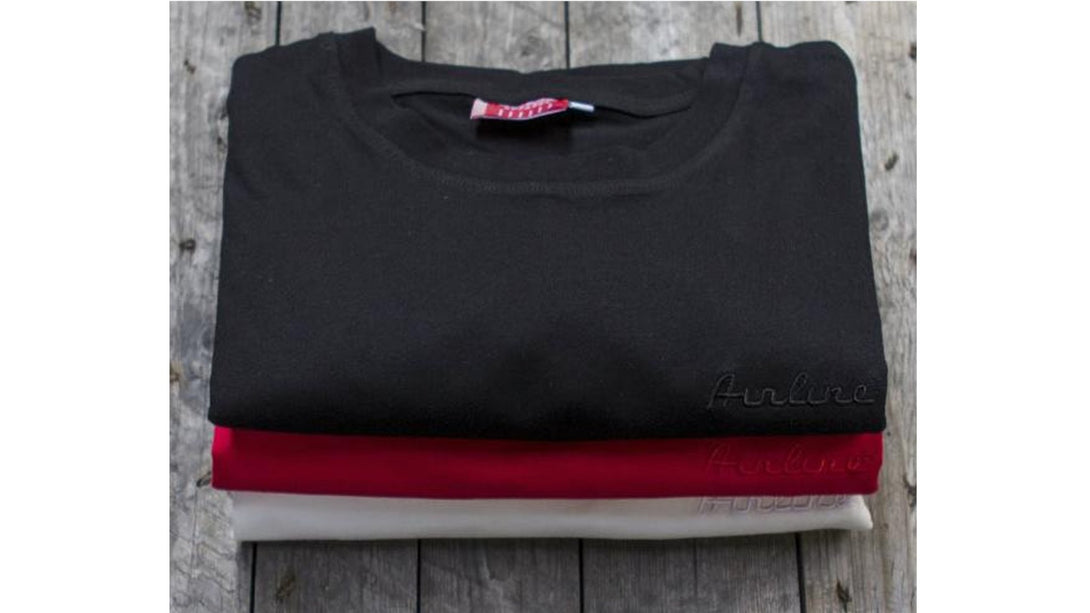 Eastwood Guitars Airline Block T-Shirt Black Angled