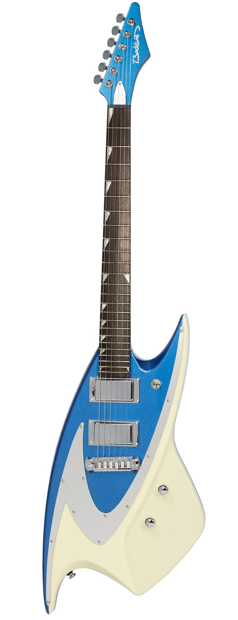 Eastwood Guitars Backlund 400 Metallic Blue Full Front
