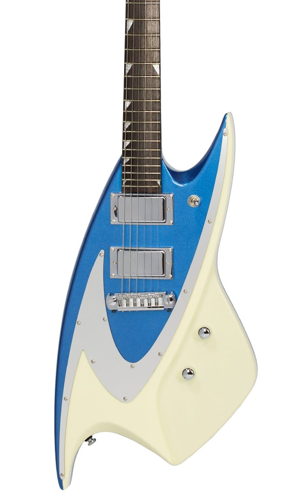 Eastwood Guitars Backlund 400 Metallic Blue Featured
