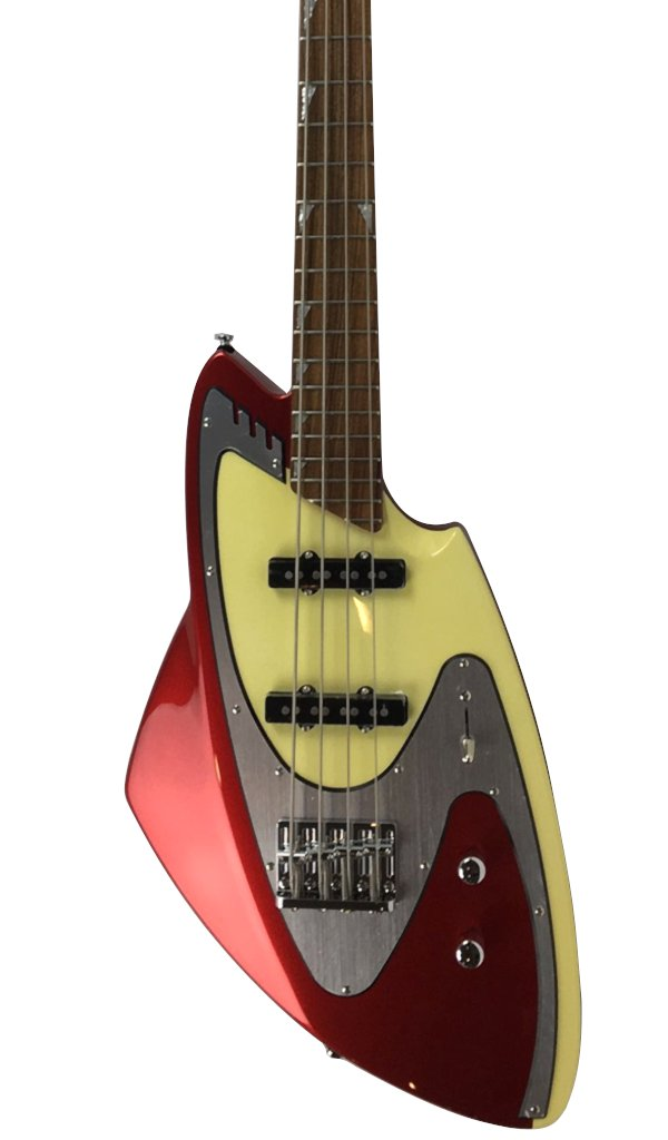 Eastwood Guitars Backlund Model 100B Metallic Red Featured