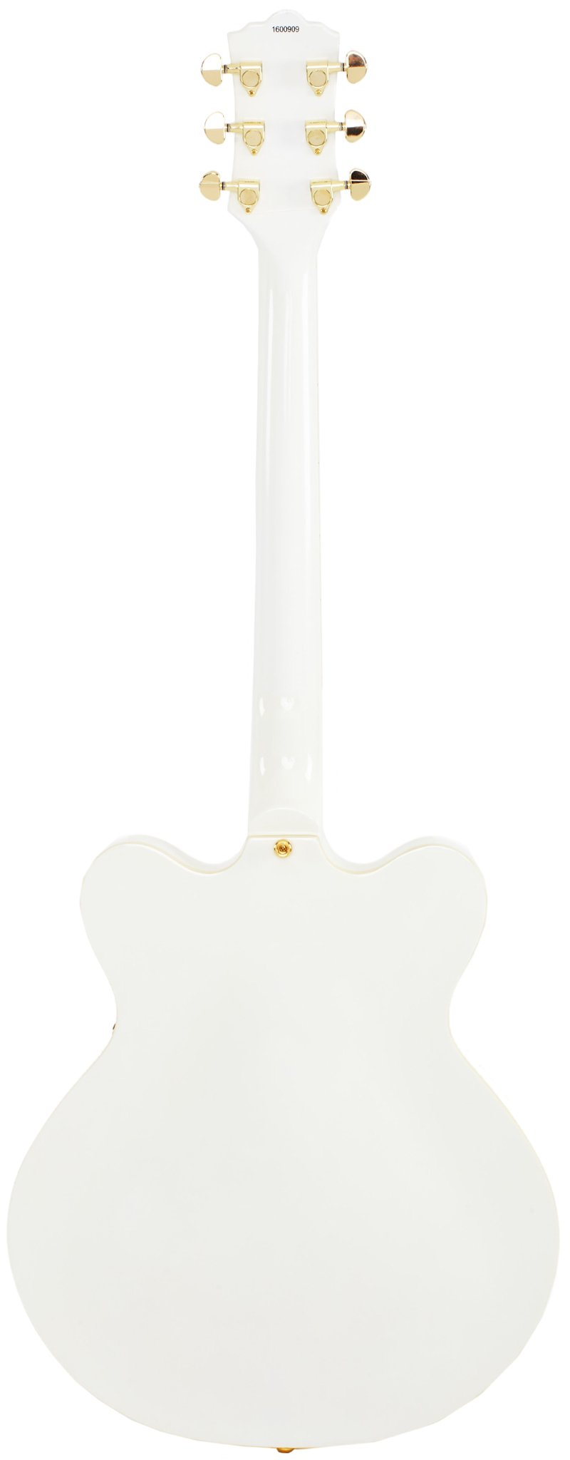 Eastwood Guitars Classic 6 White Full Back