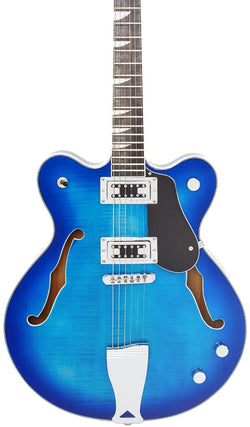 Eastwood Guitars Classic 6 Richard Lloyd Signature Blueburst Featured