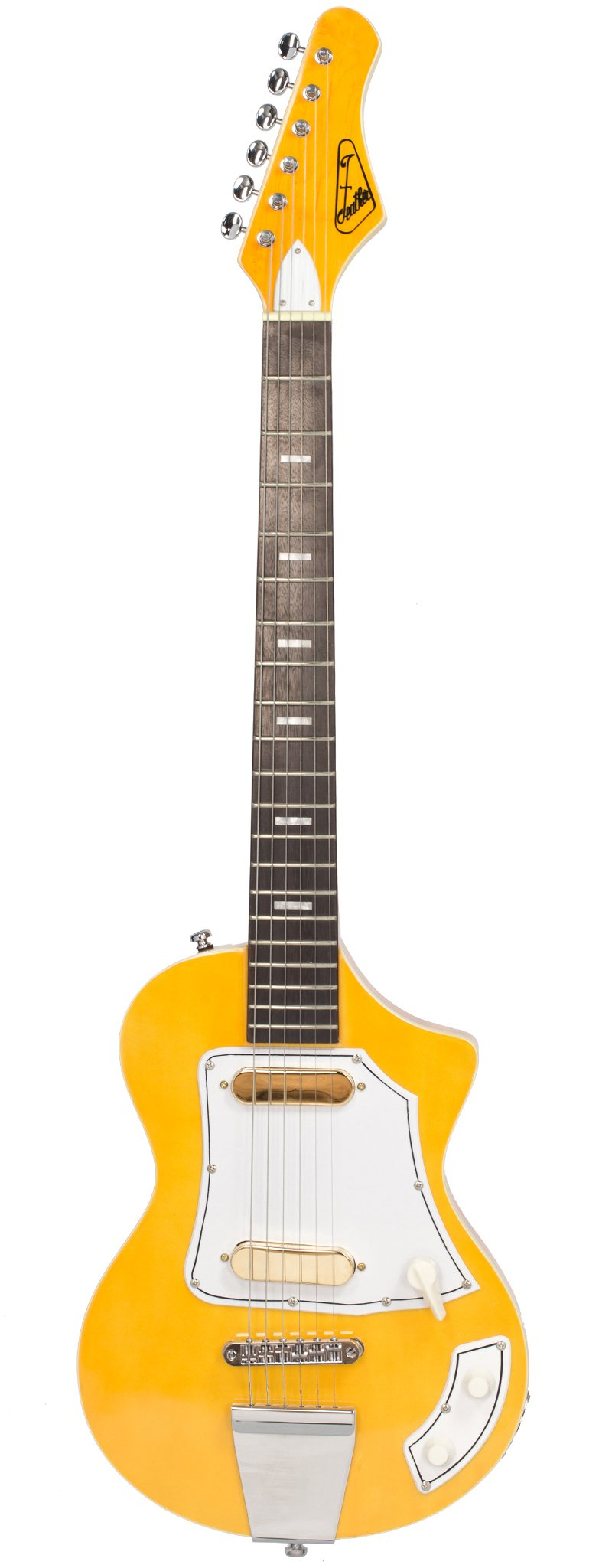 Eastwood Guitars LG50 Blonde Full Front