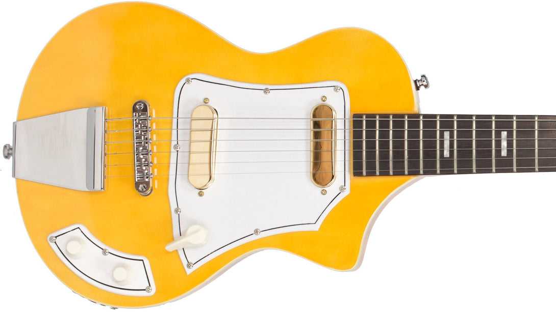 Eastwood Guitars LG50 Blonde Closeup