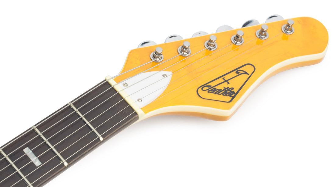 Eastwood Guitars LG50 Blonde Headstock