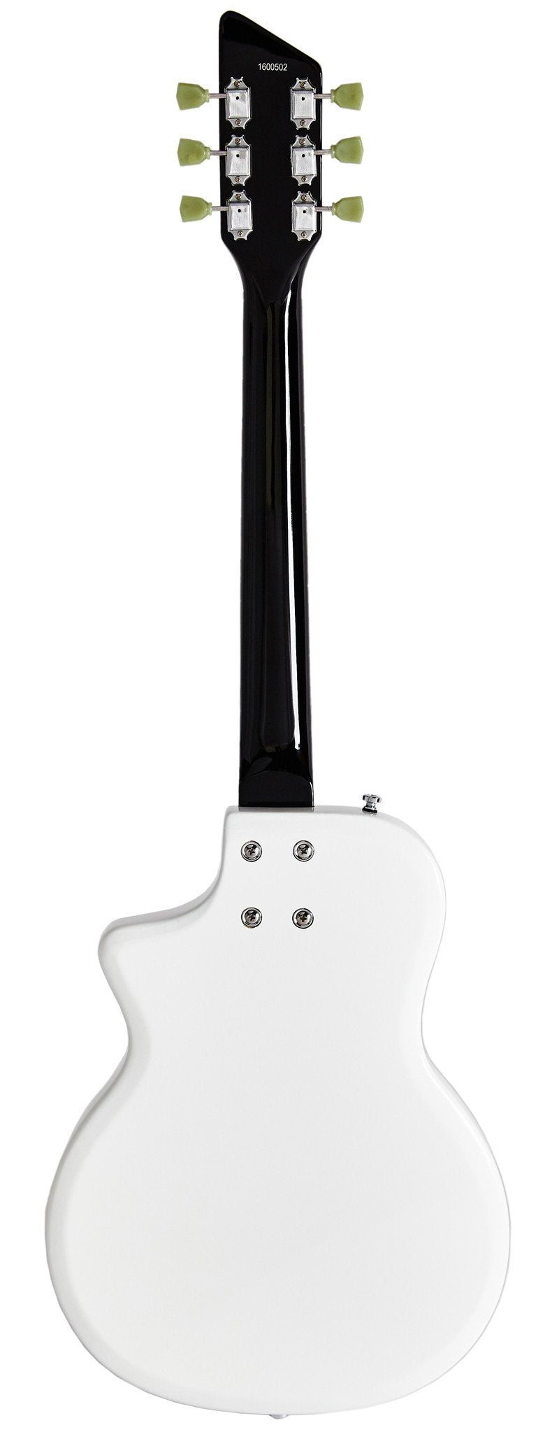 Eastwood Guitars Airline Twin Tone DLX White Full Back