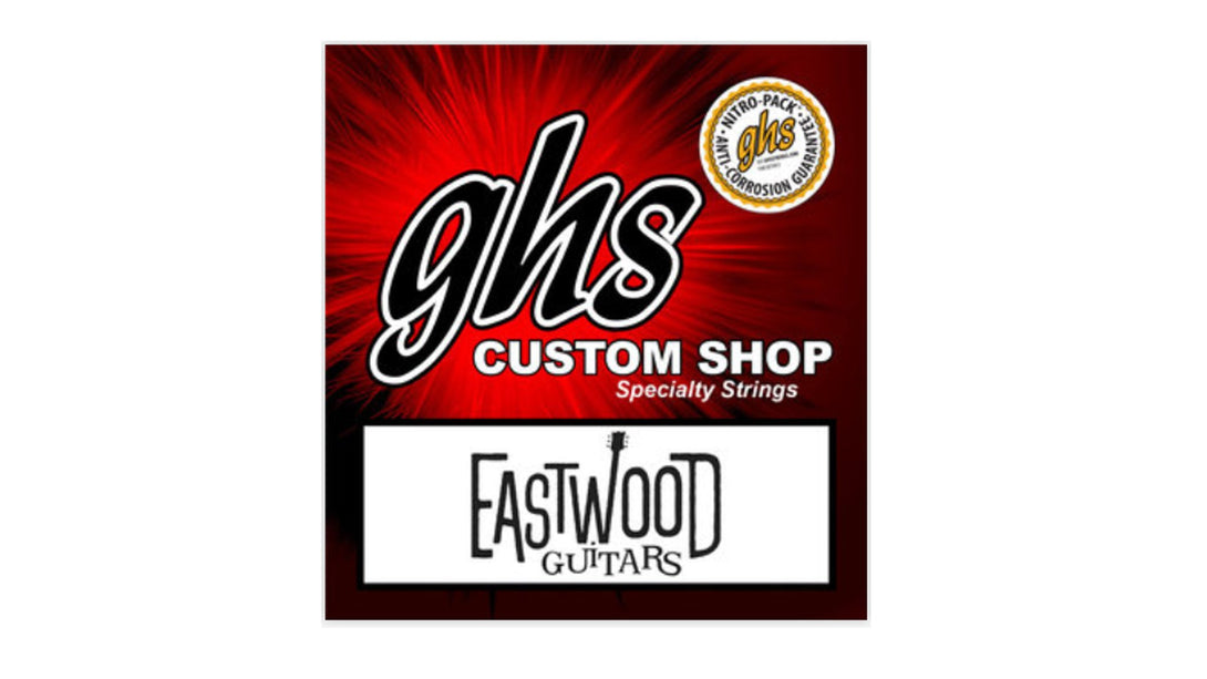 Eastwood Guitars GHS Custom Strings EG-MC Mandocaster Angled