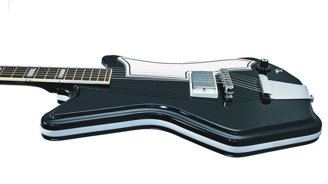 Eastwood Guitars Airline 591P Black Player POV