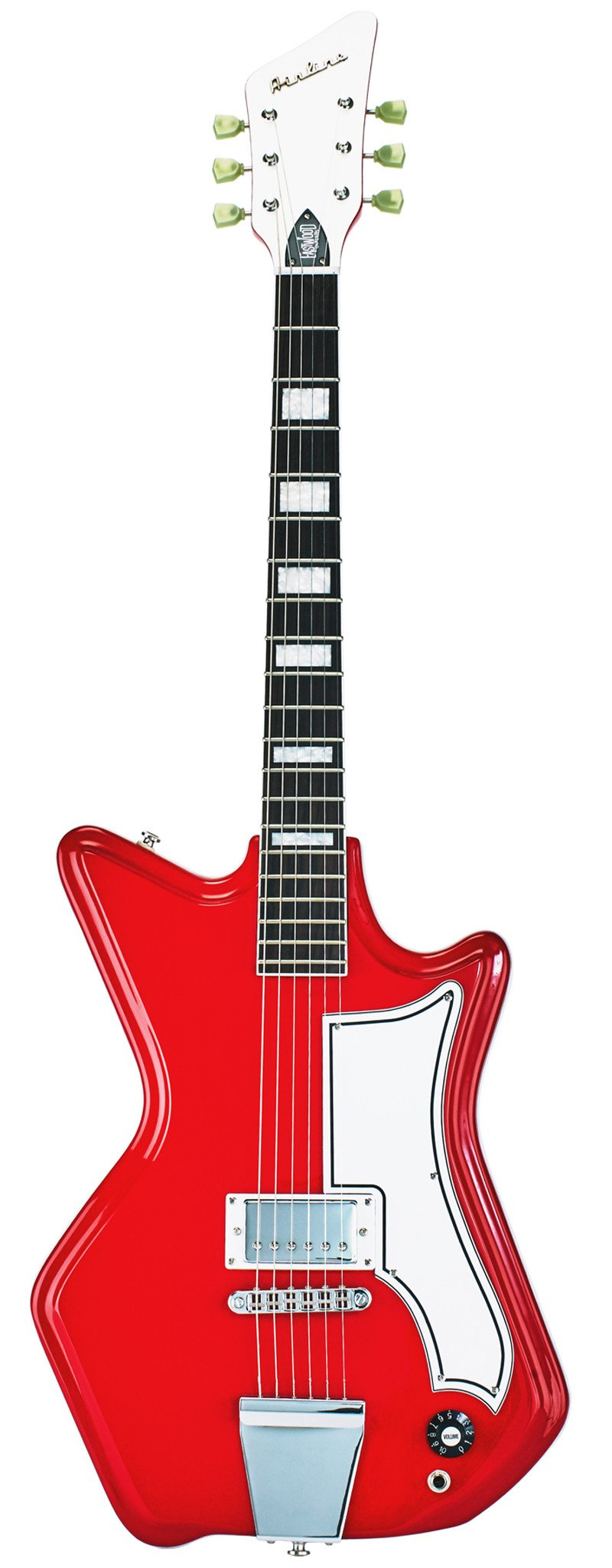 Eastwood Guitars Airline 591P Red Full Front