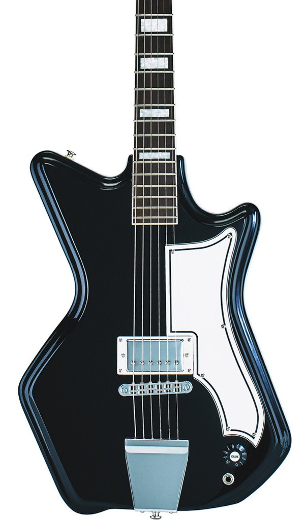 Eastwood Guitars Airline 591P Black Featured