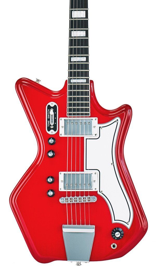 Eastwood Guitars Airline 592P Red Featured