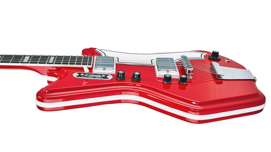 Eastwood Guitars Airline 592P Red Player POV