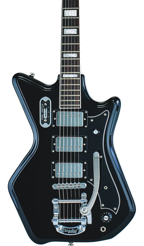 Eastwood Guitars Airline 593P Ripley Black Featured