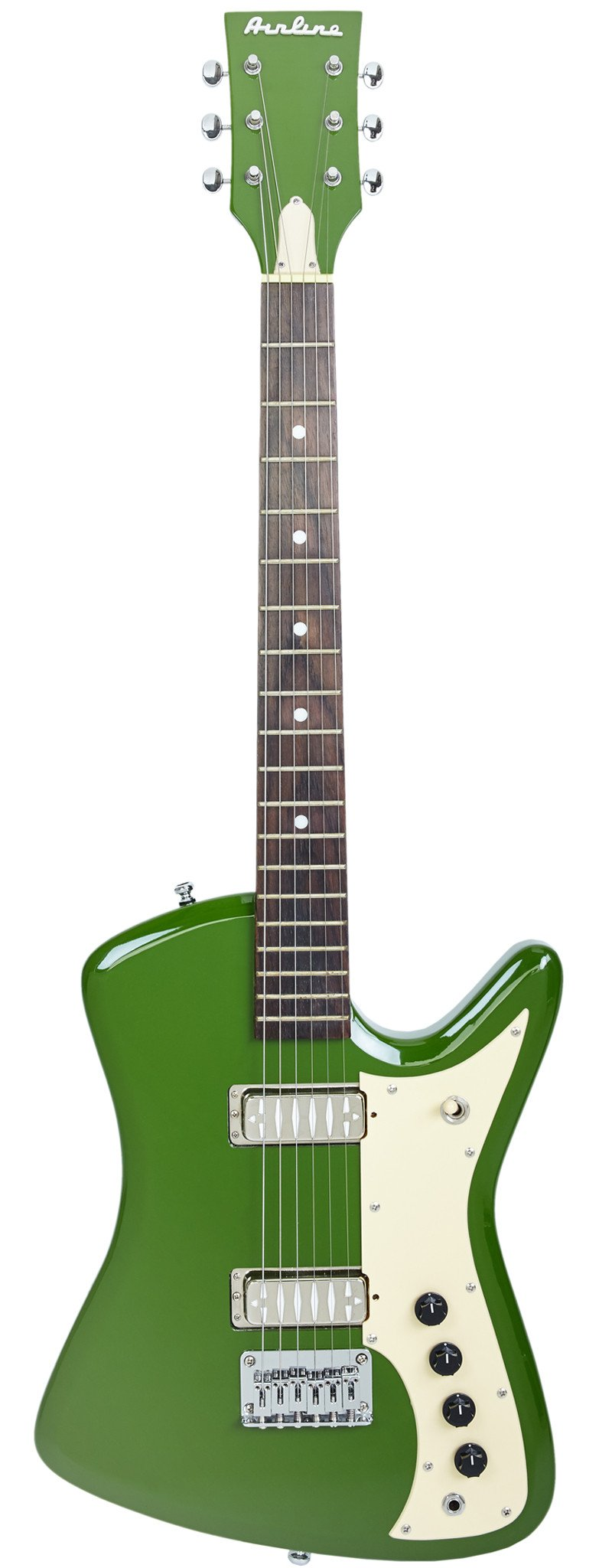Eastwood Guitars Airline Bighorn Green Full Front
