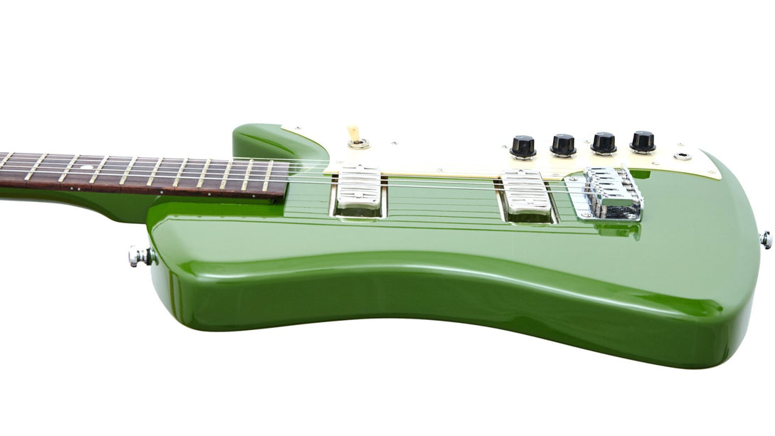 Eastwood Guitars Airline Bighorn Green Player POV