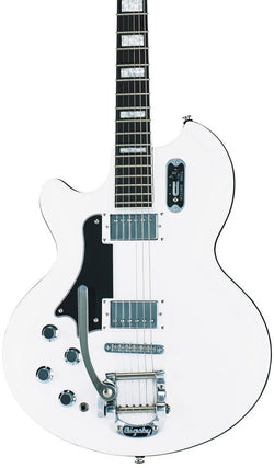 Eastwood Guitars Airline 59 Coronado White LH Featured