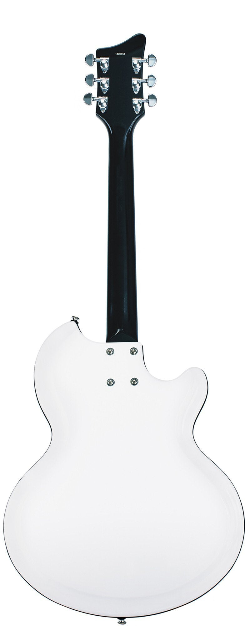 Eastwood Guitars Airline 59 Coronado White LH Full Back