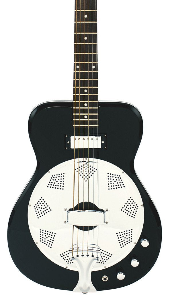 Eastwood Guitars Airline Folkstar Black Featured