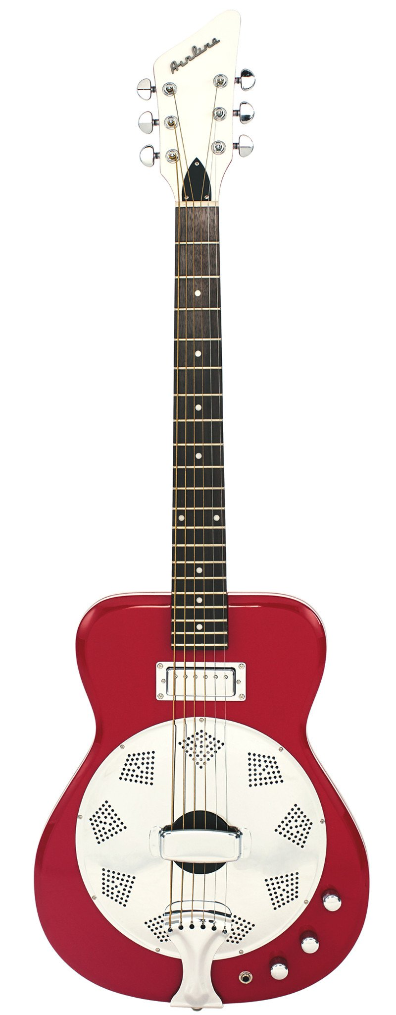 Eastwood Guitars Airline Folkstar Red Full Front