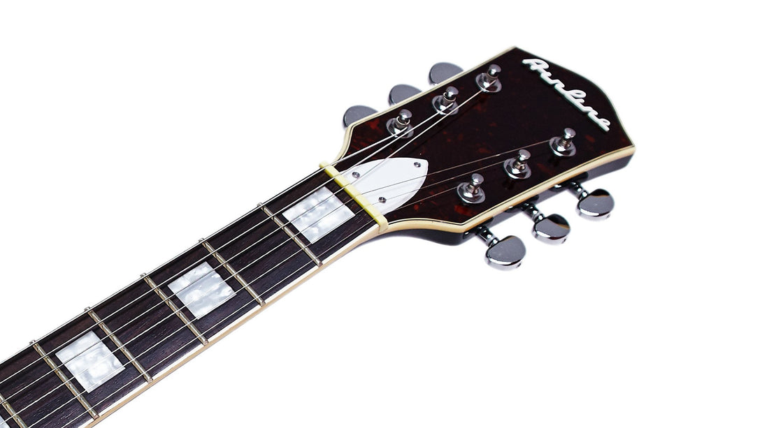 Eastwood Guitars Airline H78 Black Headstock